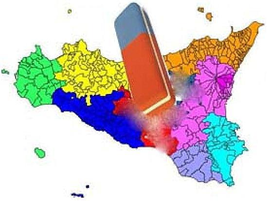 Sull'abolizione delle province regionali.