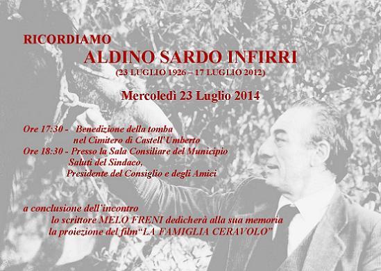 Ricordiamo Aldino Sardo Infirri.