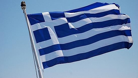 Σημαία της Ελλάδας.