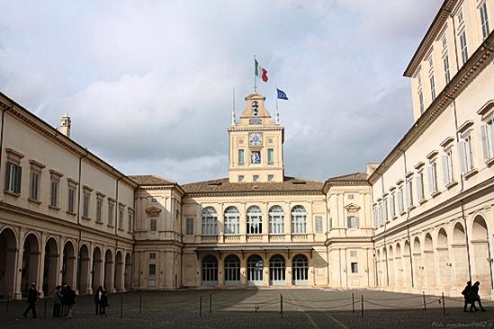 Il Palazzo del Quirinale.