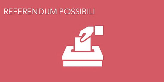 Referendum possibili.