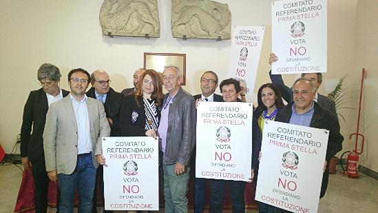 Comitato palermitano per il No al referendum costituito il 19 maggio.